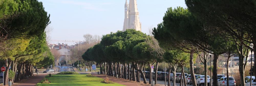 @crédit photo Mobilboard La Rochelle L'Allée du Mail – La Tour de La Lanterne