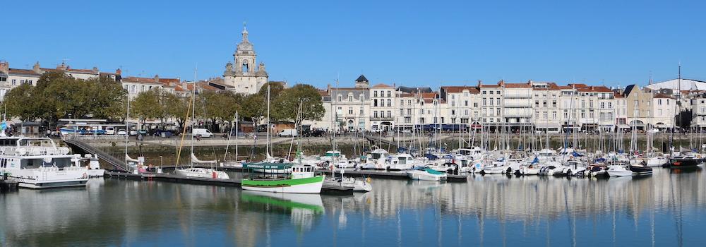 @crédit photo Mobilboard La Rochelle Le Vieux Port – Les Quais – La Porte de la Grosse Horloge