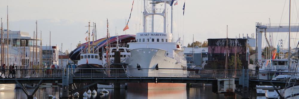 @crédit photo Mobilboard La Rochelle Le Musée Maritime située dans le Bassin des Chalutiers